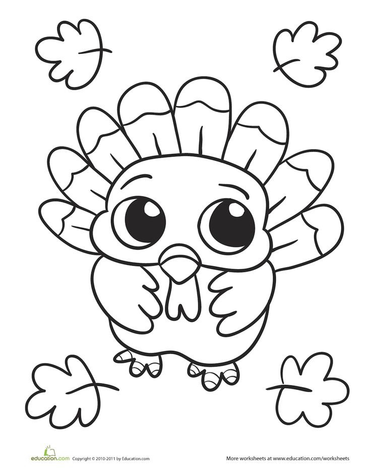 Thanksgiving Turkey Coloring Pages Printables  Best 25 Thanksgiving coloring pages ideas on Pinterest
