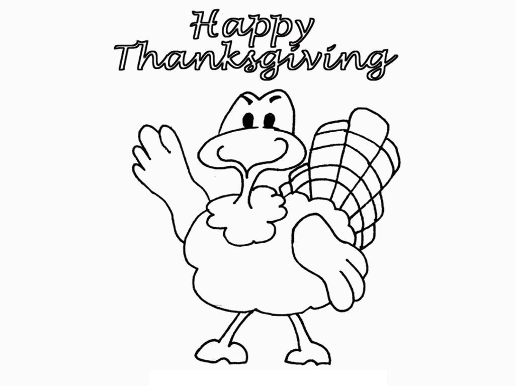Thanksgiving Turkey Coloring Pages Printables  Free Printable Thanksgiving Coloring Pages For Kids
