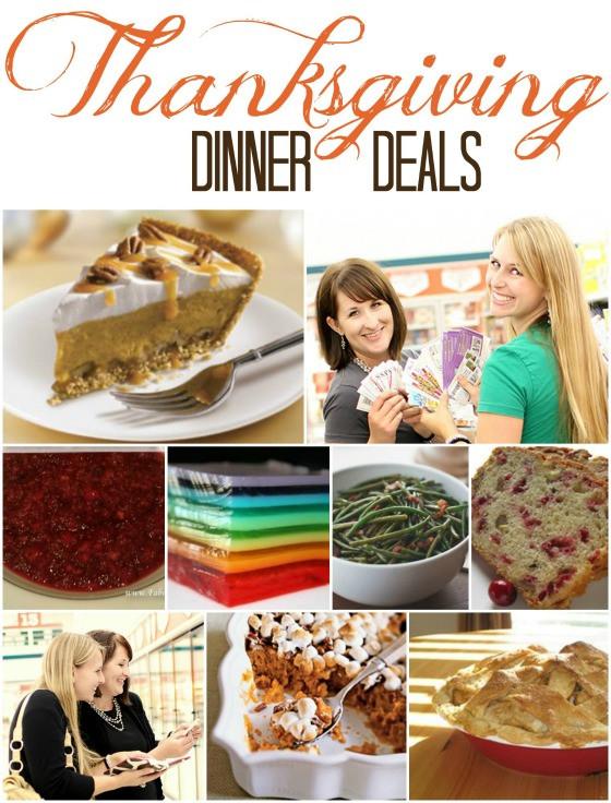 Thanksgiving Turkey Deals  Thanksgiving Dinner Deals Shopping List Fabulessly Frugal