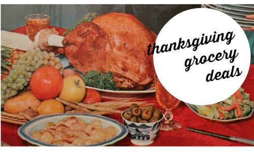 Thanksgiving Turkey Deals  Thanksgiving Grocery Deals Turkey Stuffing More