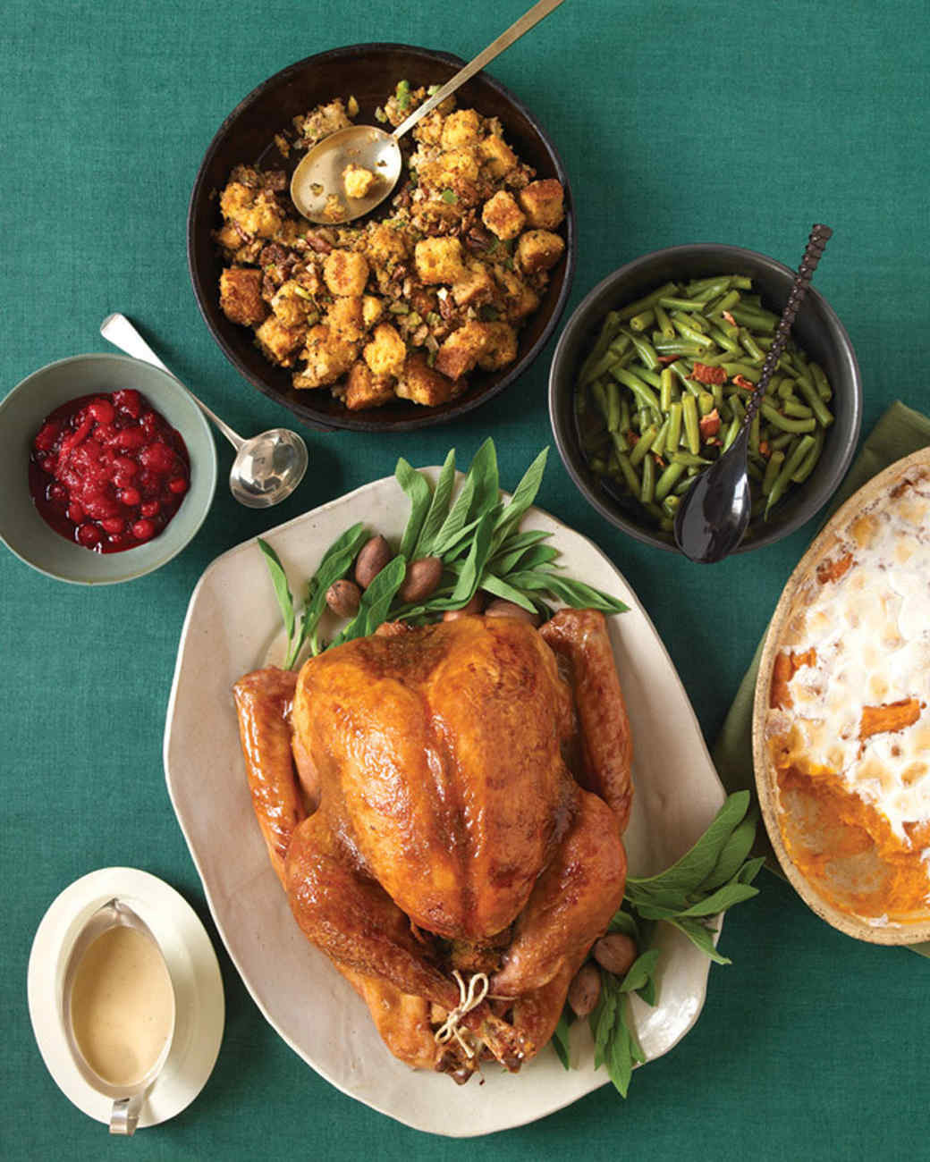 Thanksgiving Turkey Dinner  Easy Thanksgiving Menus