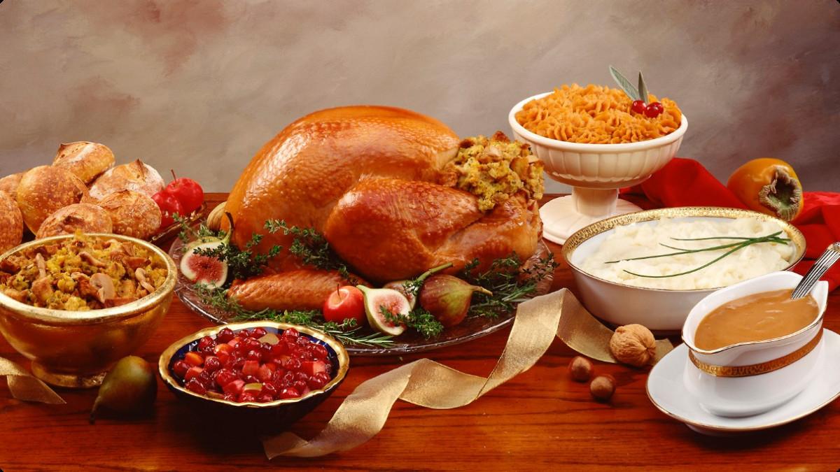 Thanksgiving Turkey Dinner  Thanksgiving Dinner Courtesy of the Farmers Market