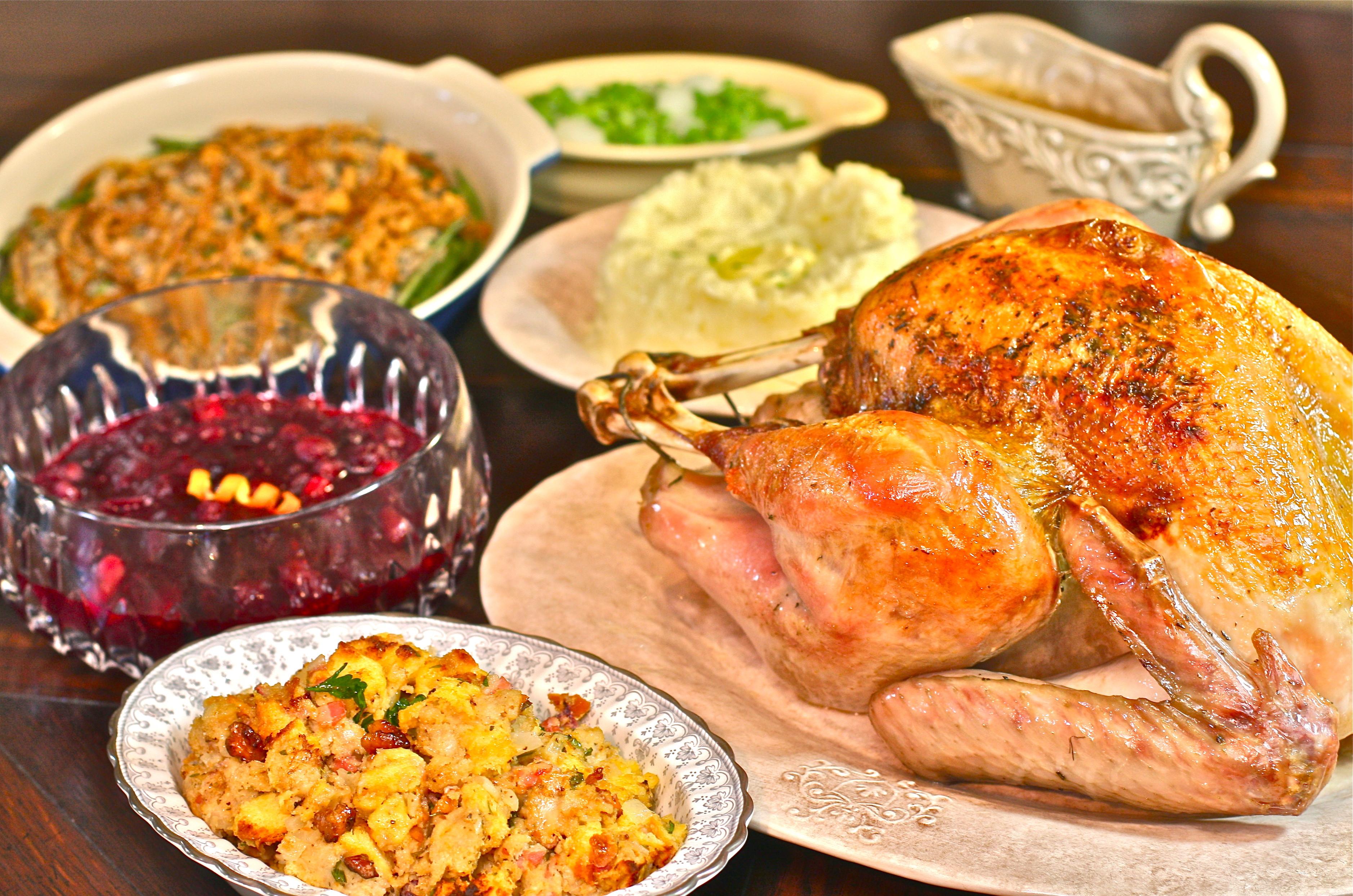 Thanksgiving Turkey Dinner  Simple Holiday Event Ideas