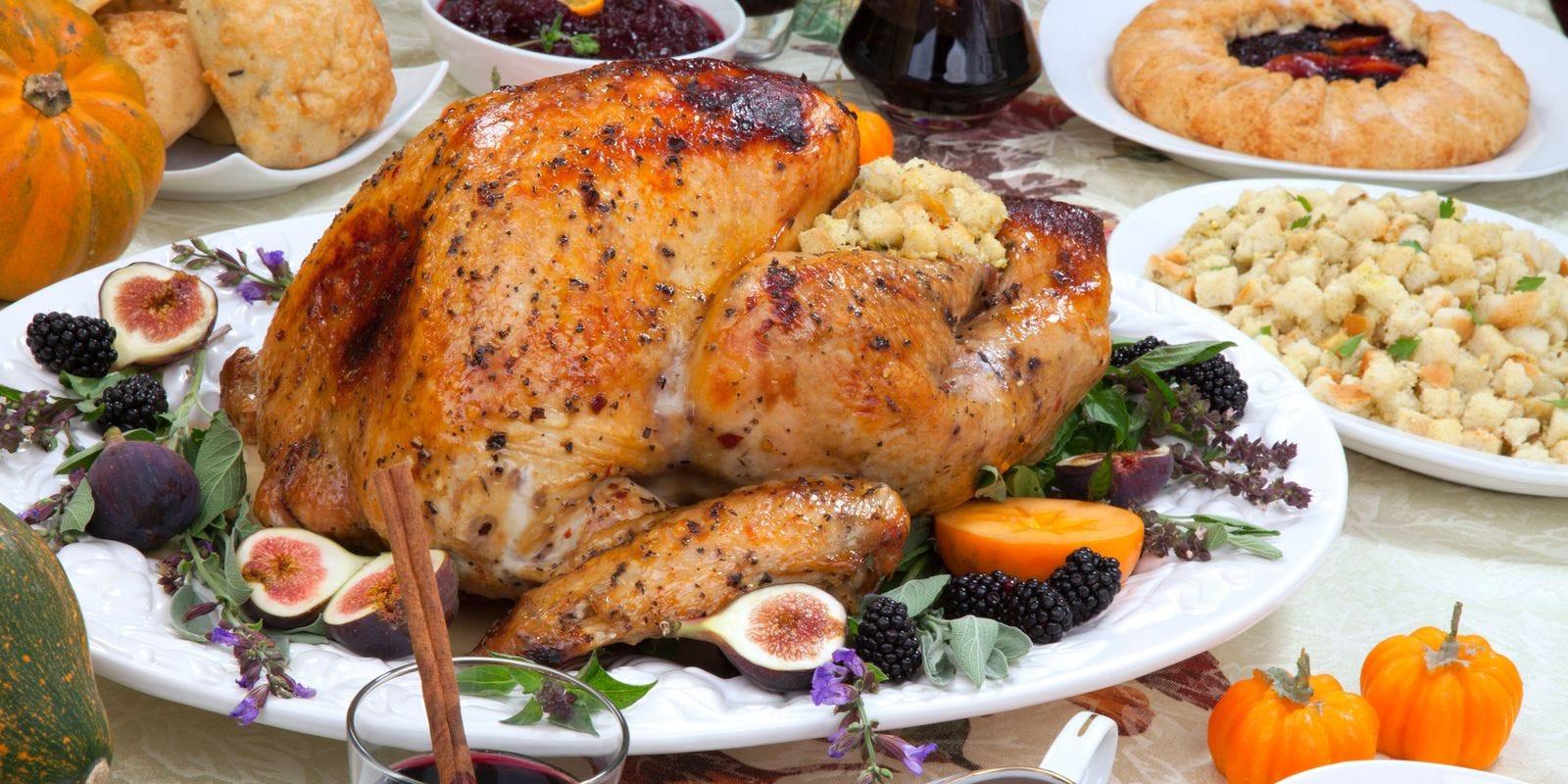 Thanksgiving Turkey Dinner  Cost of Thanksgiving dinner takes a surprising turn