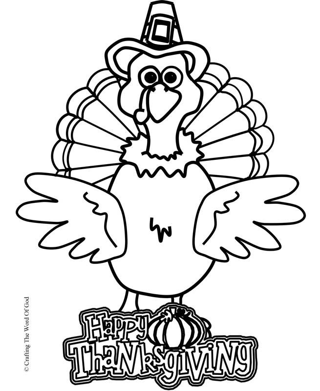Thanksgiving Turkey Drawing  Thanksgiving Turkey Coloring Page Coloring Page