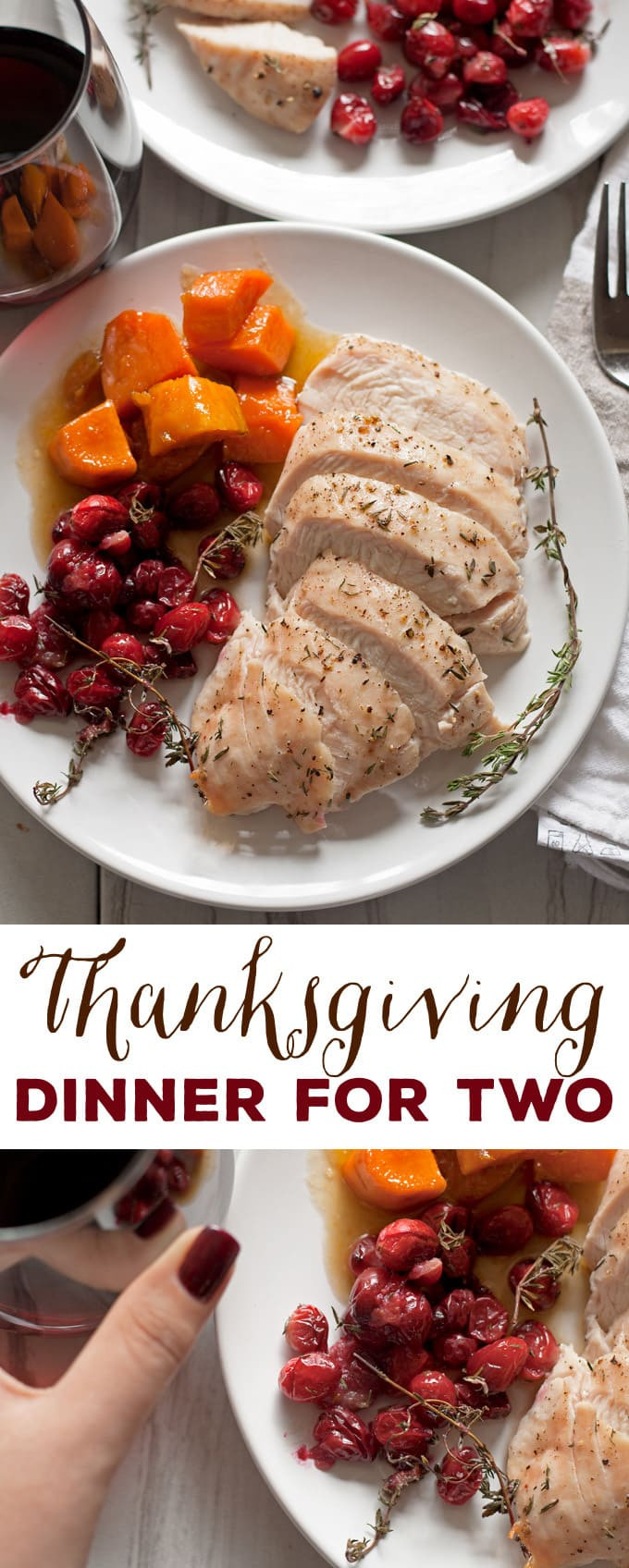 Thanksgiving Turkey For Two  Thanksgiving Dinner for Two Turkey Breast Dinner for Two