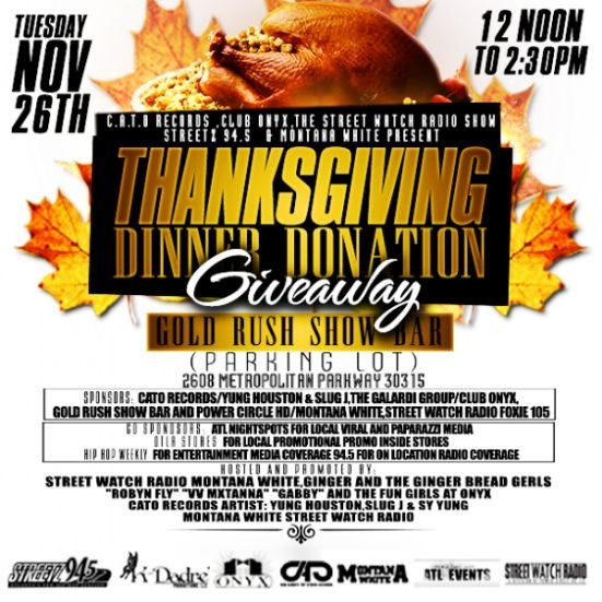 Thanksgiving Turkey Giveaway  TUES 11 26 12PM 2 30PM TURKEY GIVE AWAY Thanksgiving
