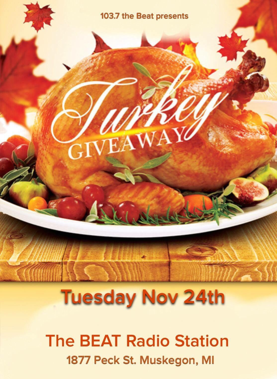 Thanksgiving Turkey Giveaway  Video from our 14th Annual Thanksgiving Turkey Giveaway