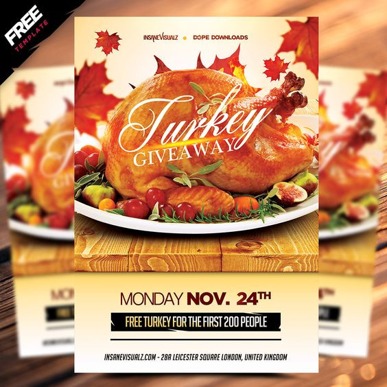 Thanksgiving Turkey Giveaway  Pinterest • The world's catalog of ideas