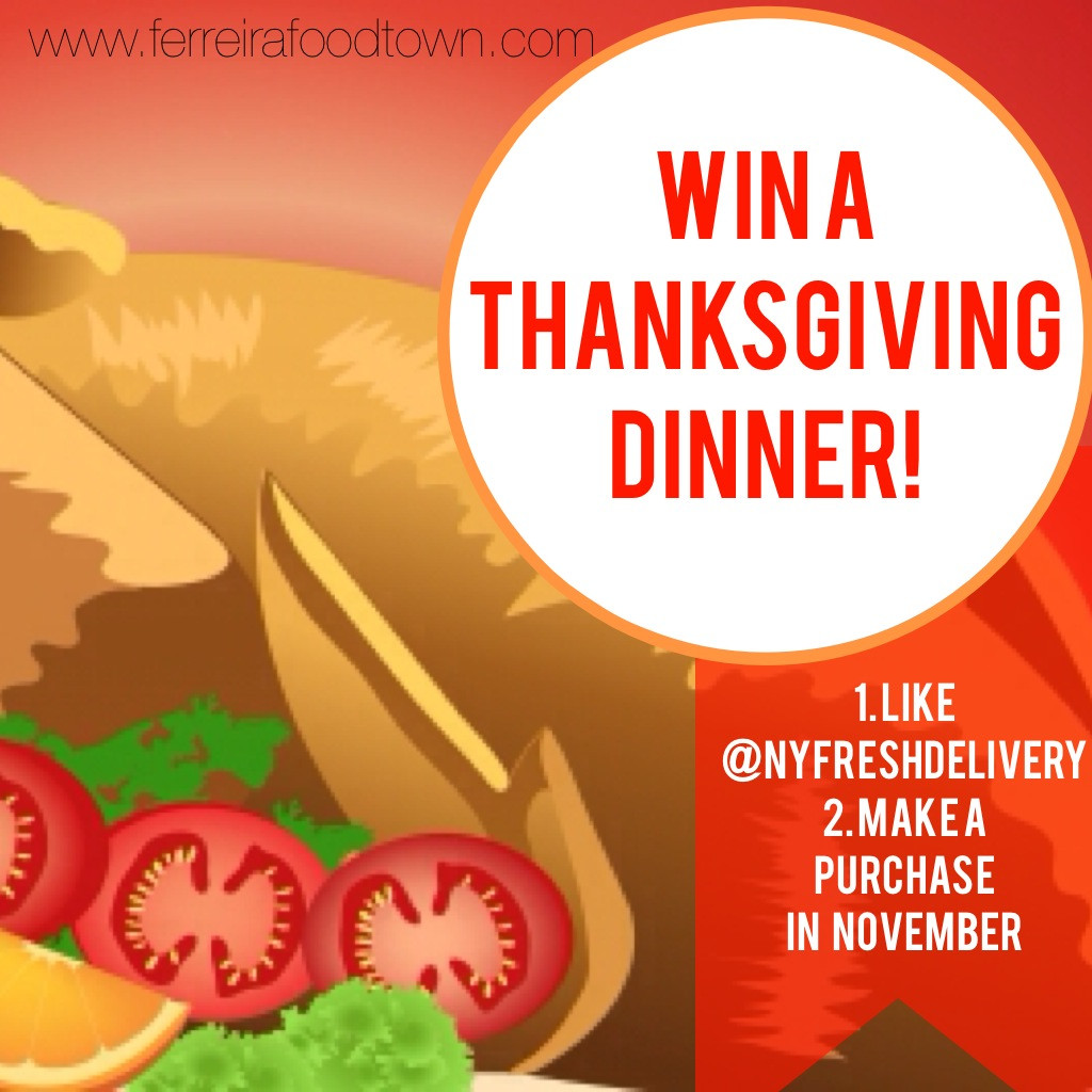 Thanksgiving Turkey Giveaway  Win A Thanksgiving Dinner on Us – You ve Got Groceries