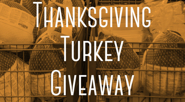 Thanksgiving Turkey Giveaway  Turkey giveaways and free meals