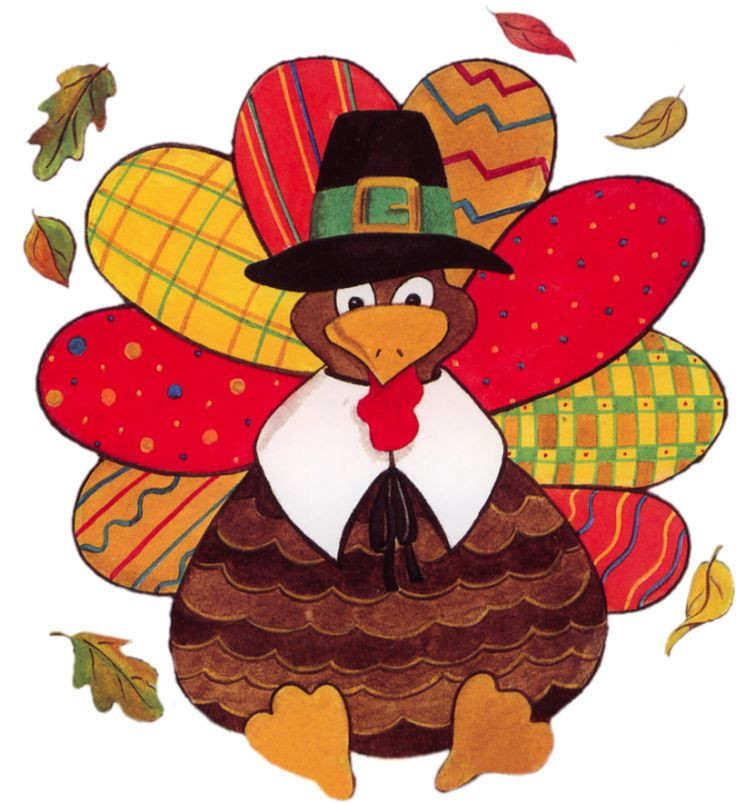 Thanksgiving Turkey Graphic  THANKSGIVING TURKEY CLIP ART