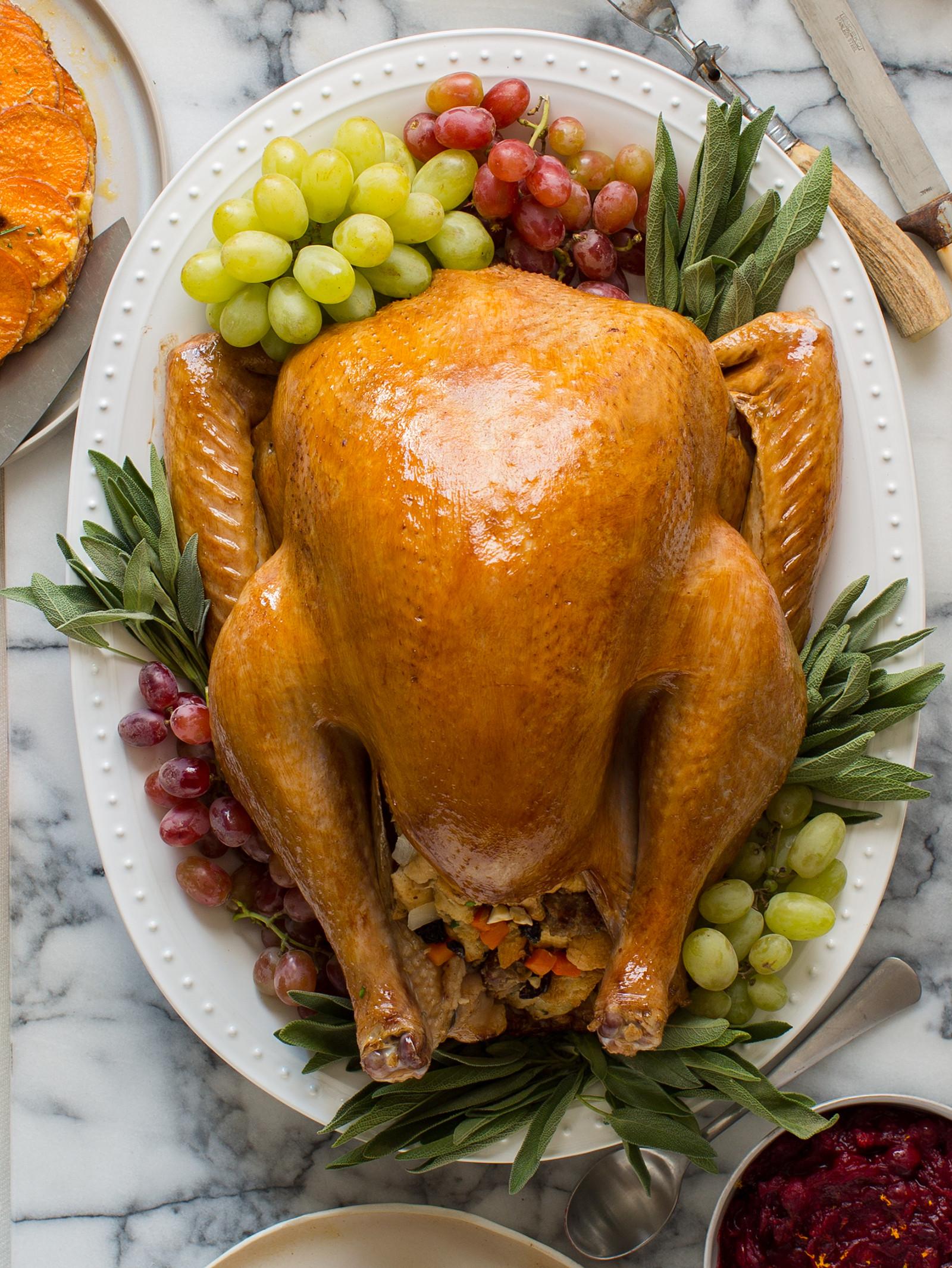 Thanksgiving Turkey Image  Citrus and Herb Roasted Turkey Thanksgiving