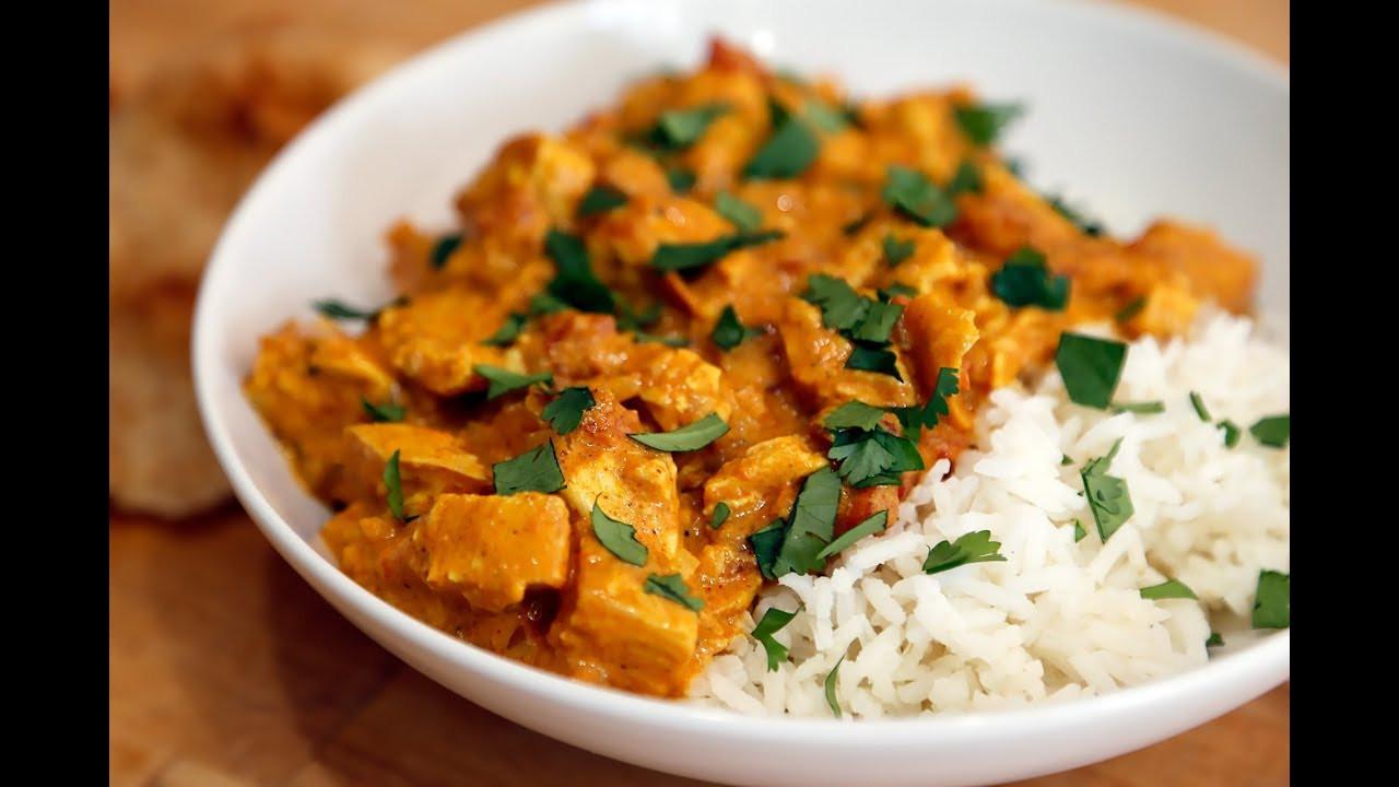 Thanksgiving Turkey Indian Style  Thanksgiving Leftovers Indian Style Turkey Tikka Masala