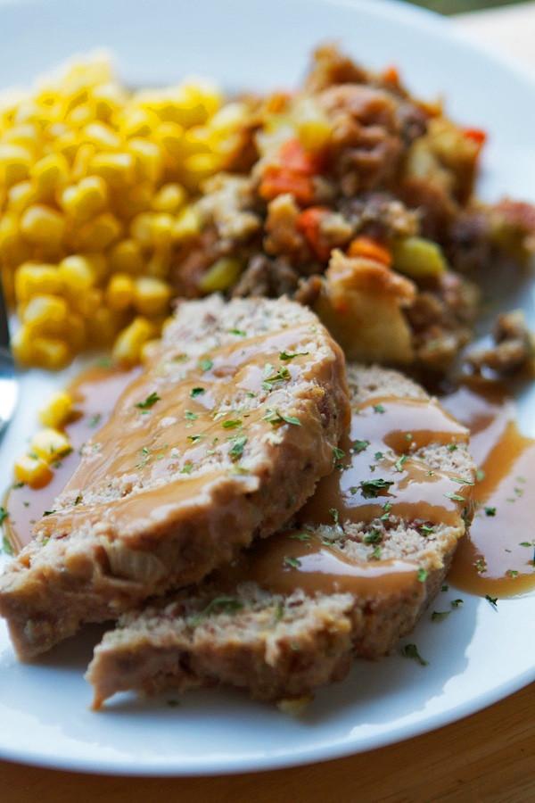 Thanksgiving Turkey Meatloaf  Thanksgiving Turkey Meatloaf Recipe
