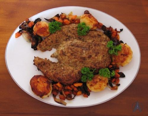 Thanksgiving Turkey Meatloaf  Food Replicator For thanksgiving Turkey meatloaf