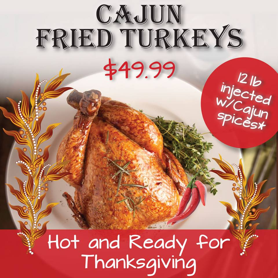 Thanksgiving Turkey Order  Enjoy a Thanksgiving feast at Do s or order a deep