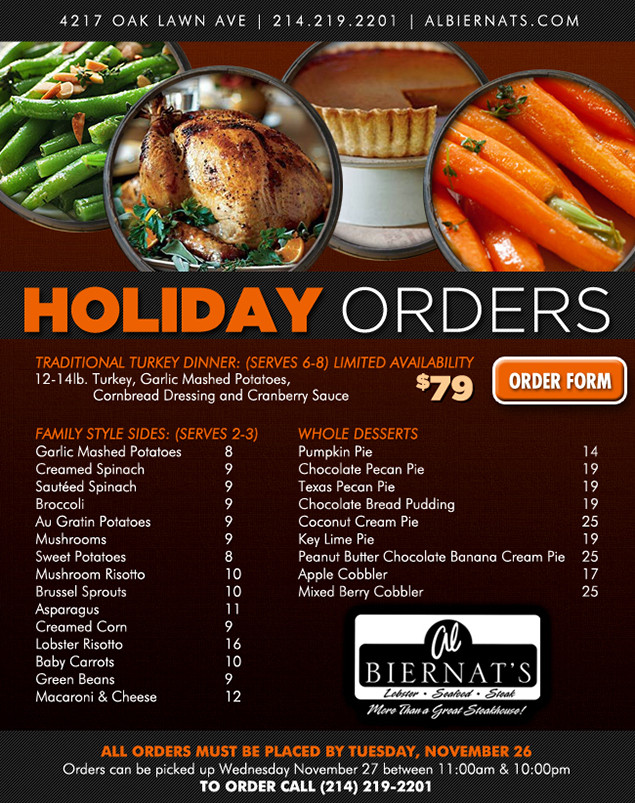 Thanksgiving Turkey Order  2013 Thanksgiving Guide Where to Pre Order Turkeys and