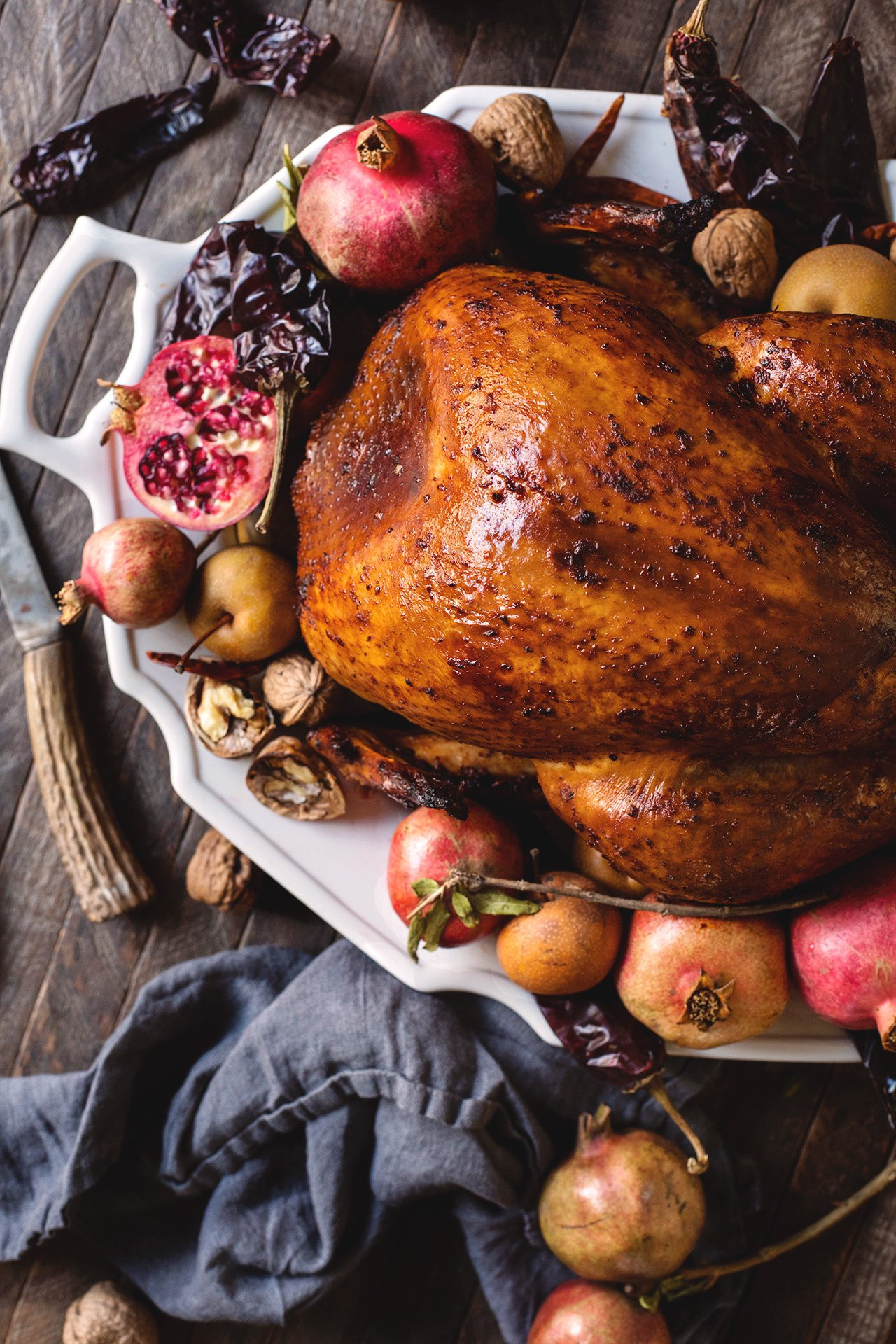 Thanksgiving Turkey Picture  Chile Rubbed Thanksgiving Turkey – HonestlyYUM