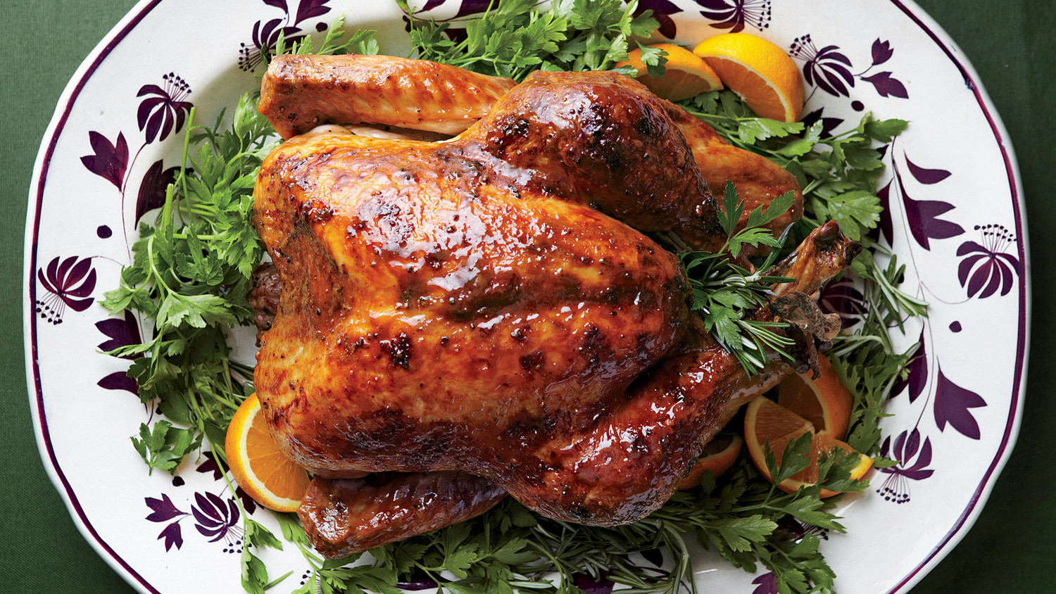 Thanksgiving Turkey Pictures  Turkey with Brown Sugar Glaze Recipe & Video
