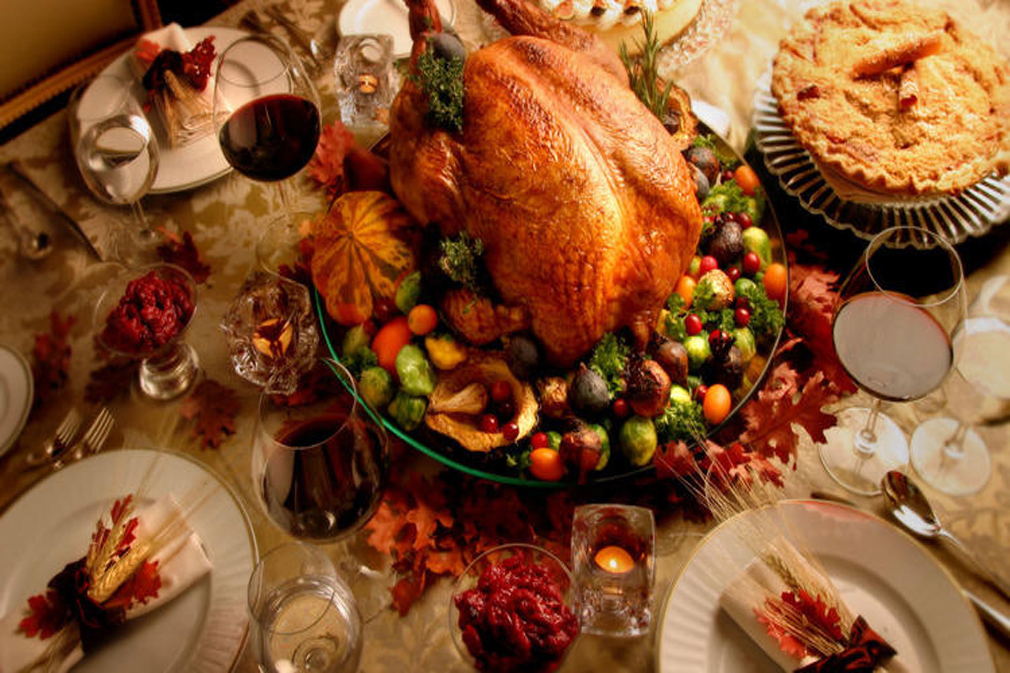 Thanksgiving Turkey Pictures  Best restaurants for Thanksgiving dinner in Los Angeles