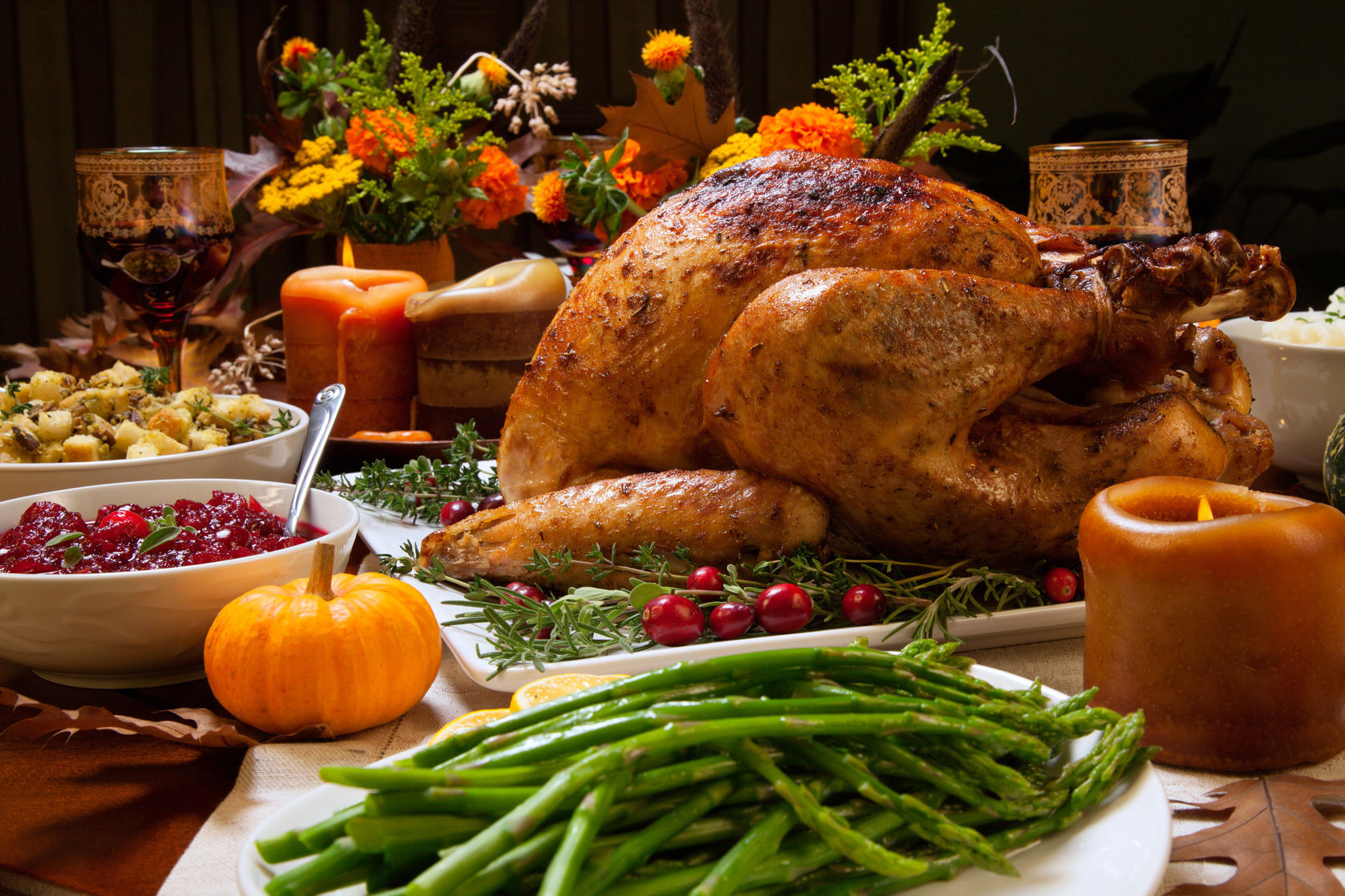 Thanksgiving Turkey Pictures  Festive Thanksgiving Tablescape Ideas Brock Built