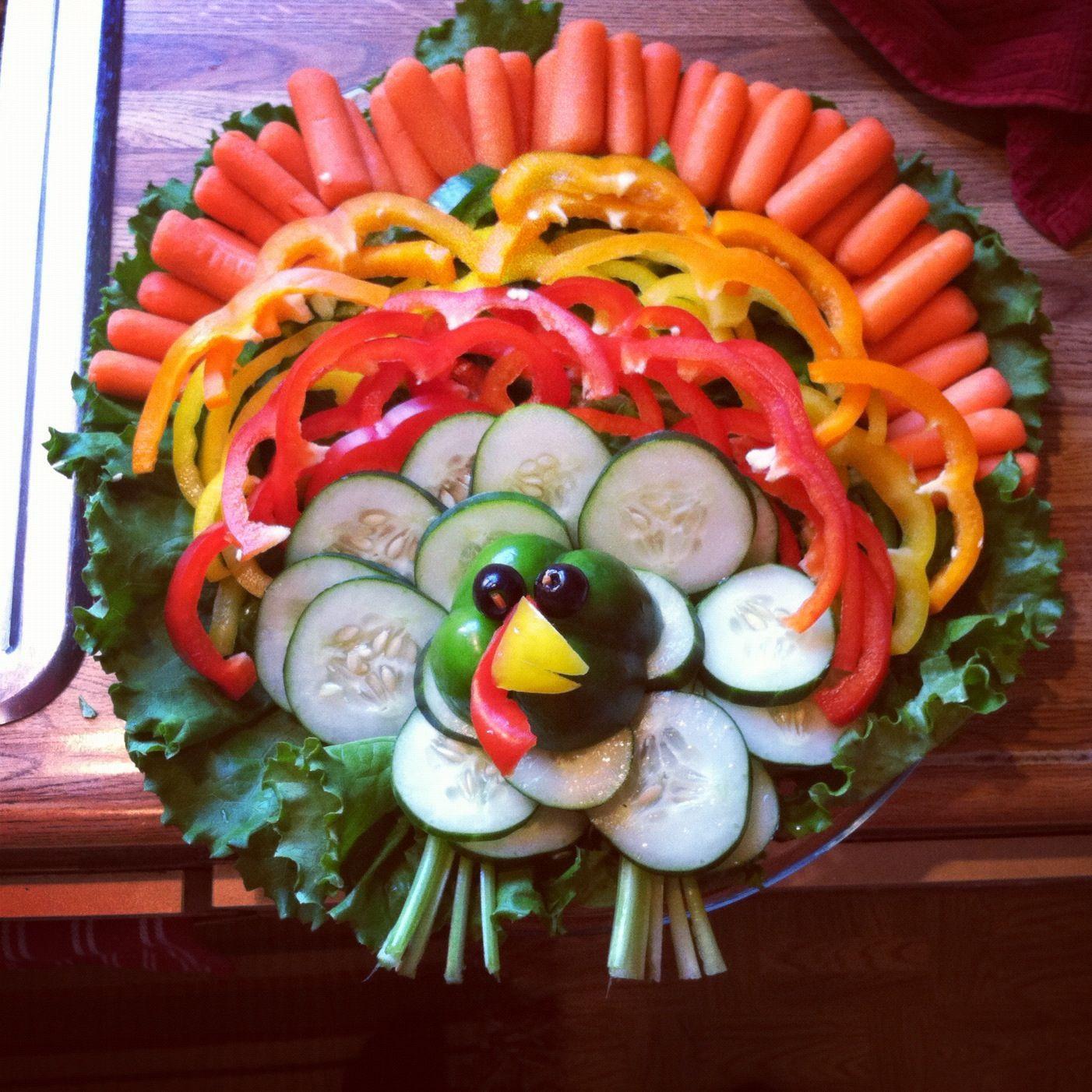 Thanksgiving Turkey Platter  1000 ideas about Turkey Veggie Platter on Pinterest