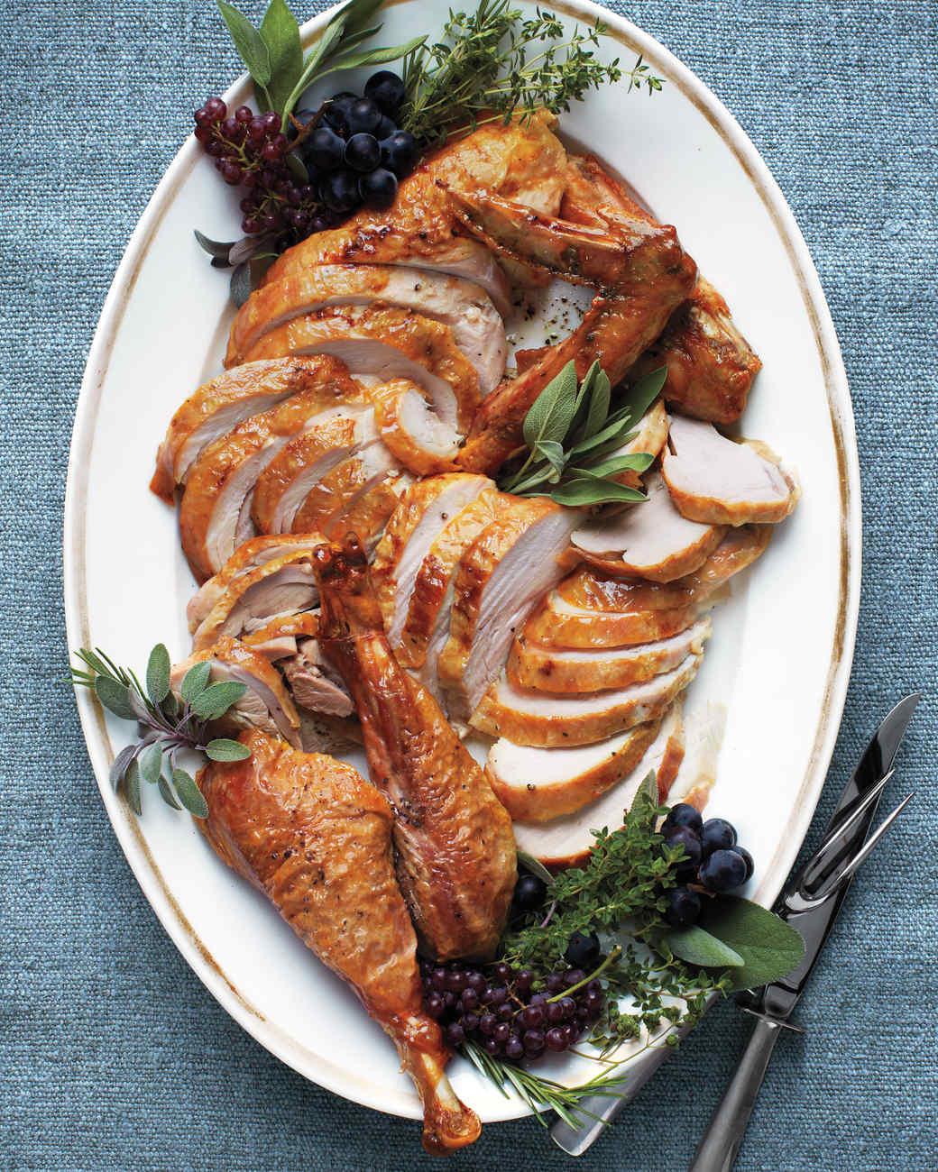 Thanksgiving Turkey Platter  38 Terrific Thanksgiving Turkey Recipes