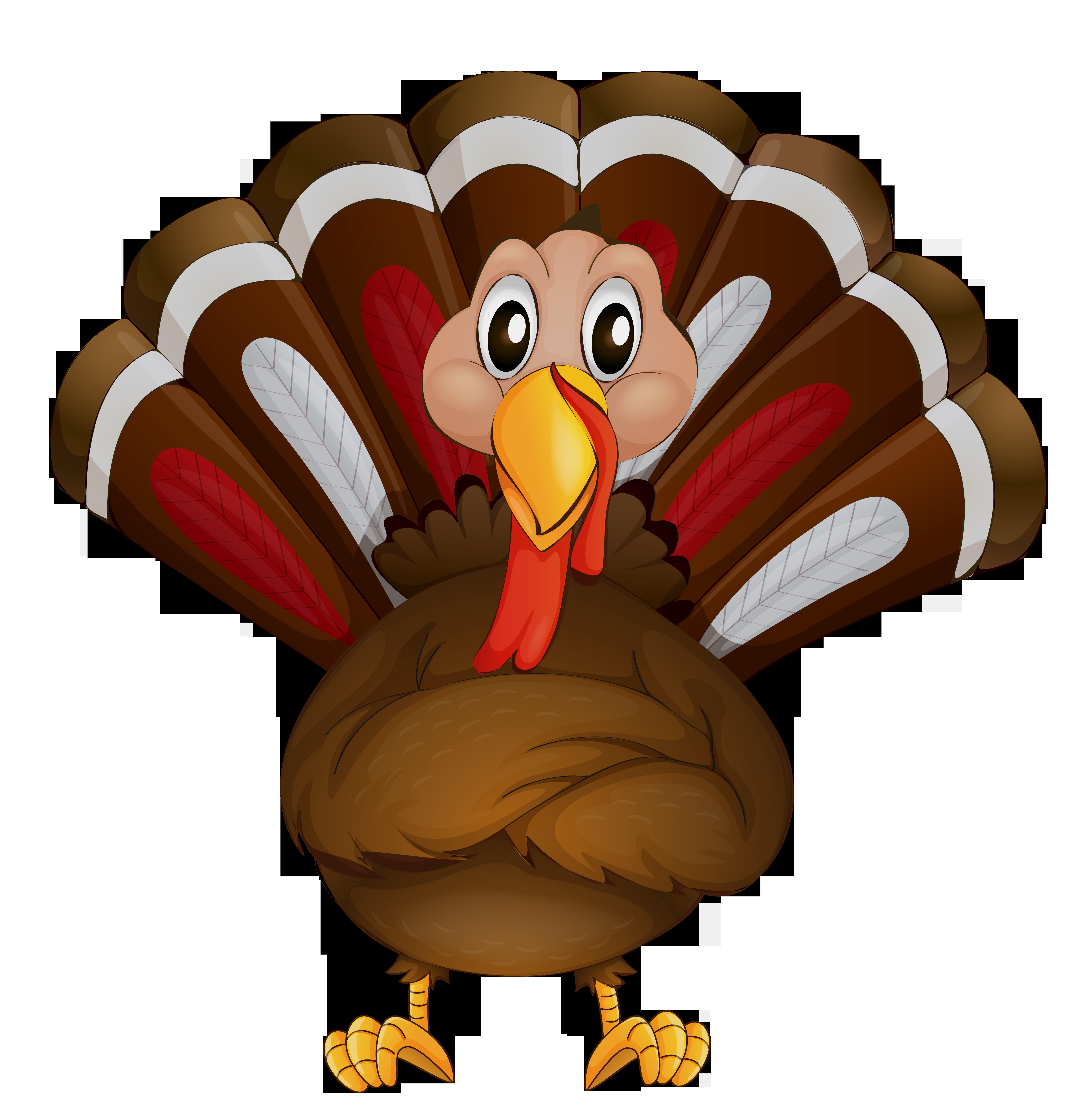 Thanksgiving Turkey Png  Thanksgiving clipart transparent Pencil and in color