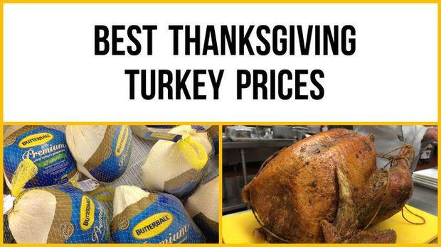 Thanksgiving Turkey Prices  Thanksgiving 2016 Which supermarket has the best turkey