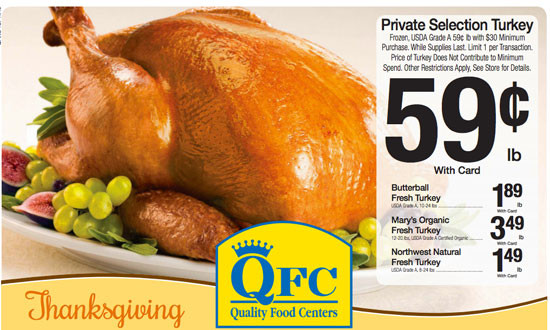 Thanksgiving Turkey Prices  safeway thanksgiving deals