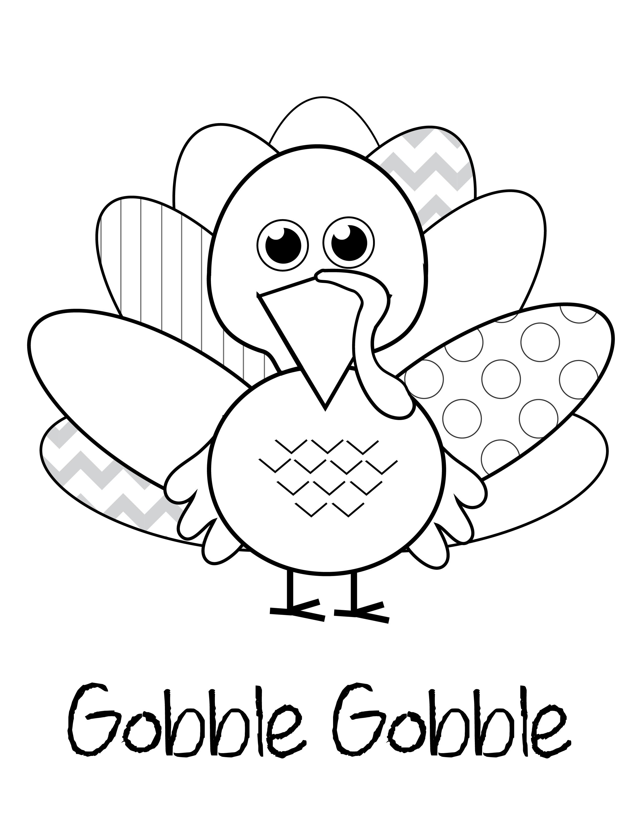 Thanksgiving Turkey Printable  free thanksgiving printables