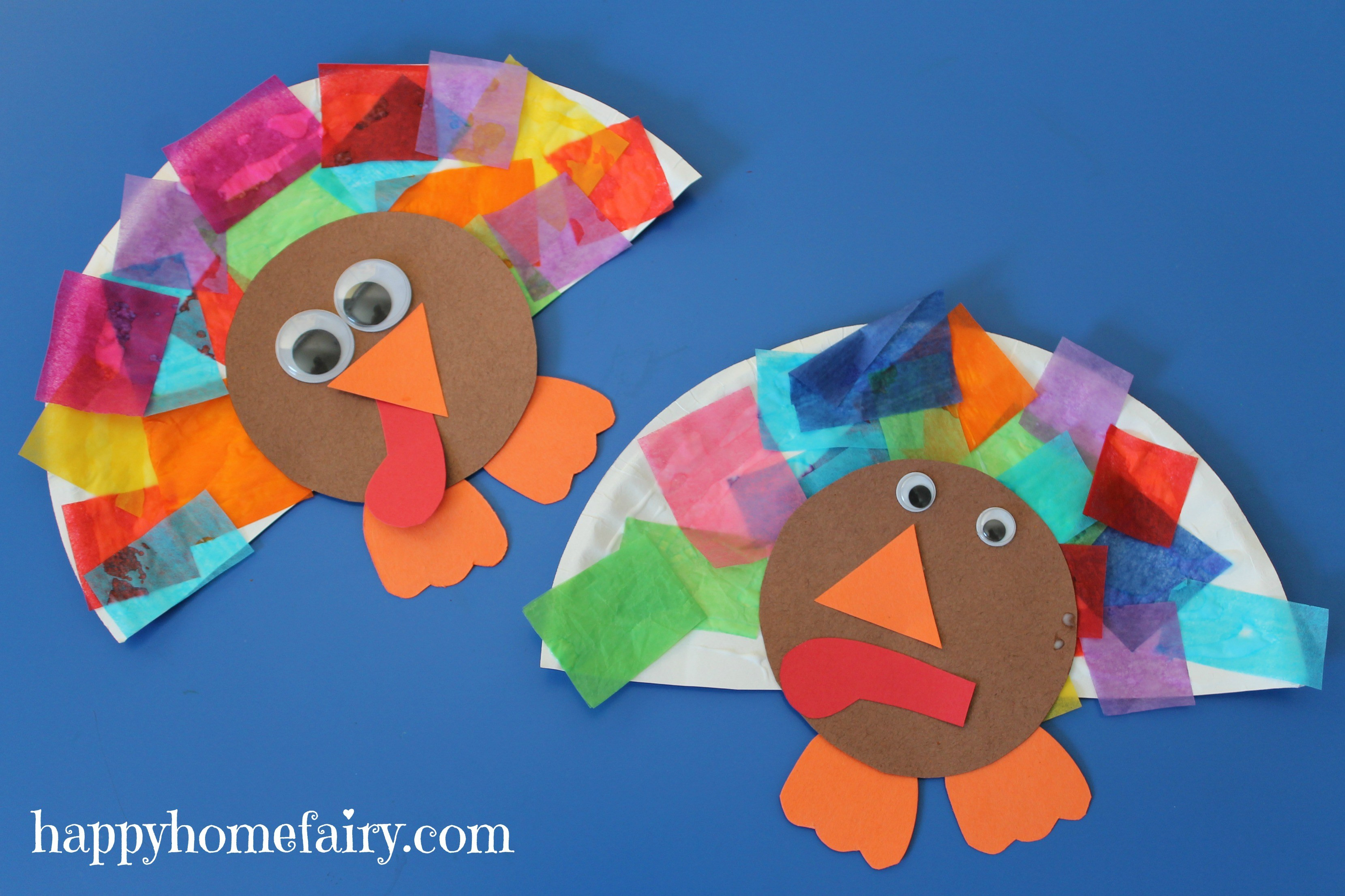 Thanksgiving Turkey Projects  Easy Turkey Craft Happy Home Fairy