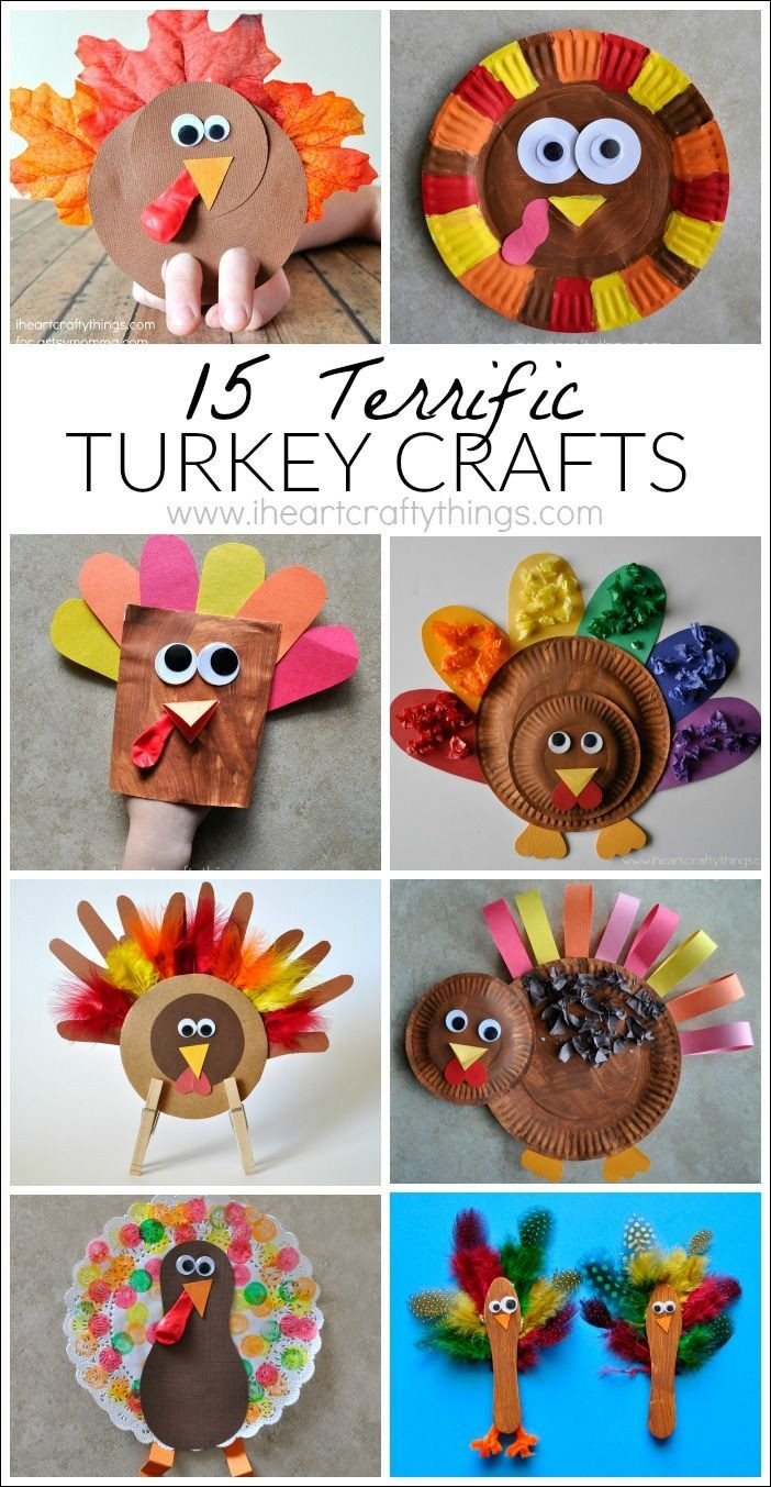 Thanksgiving Turkey Projects  Best 25 Thanksgiving crafts for kids ideas on Pinterest