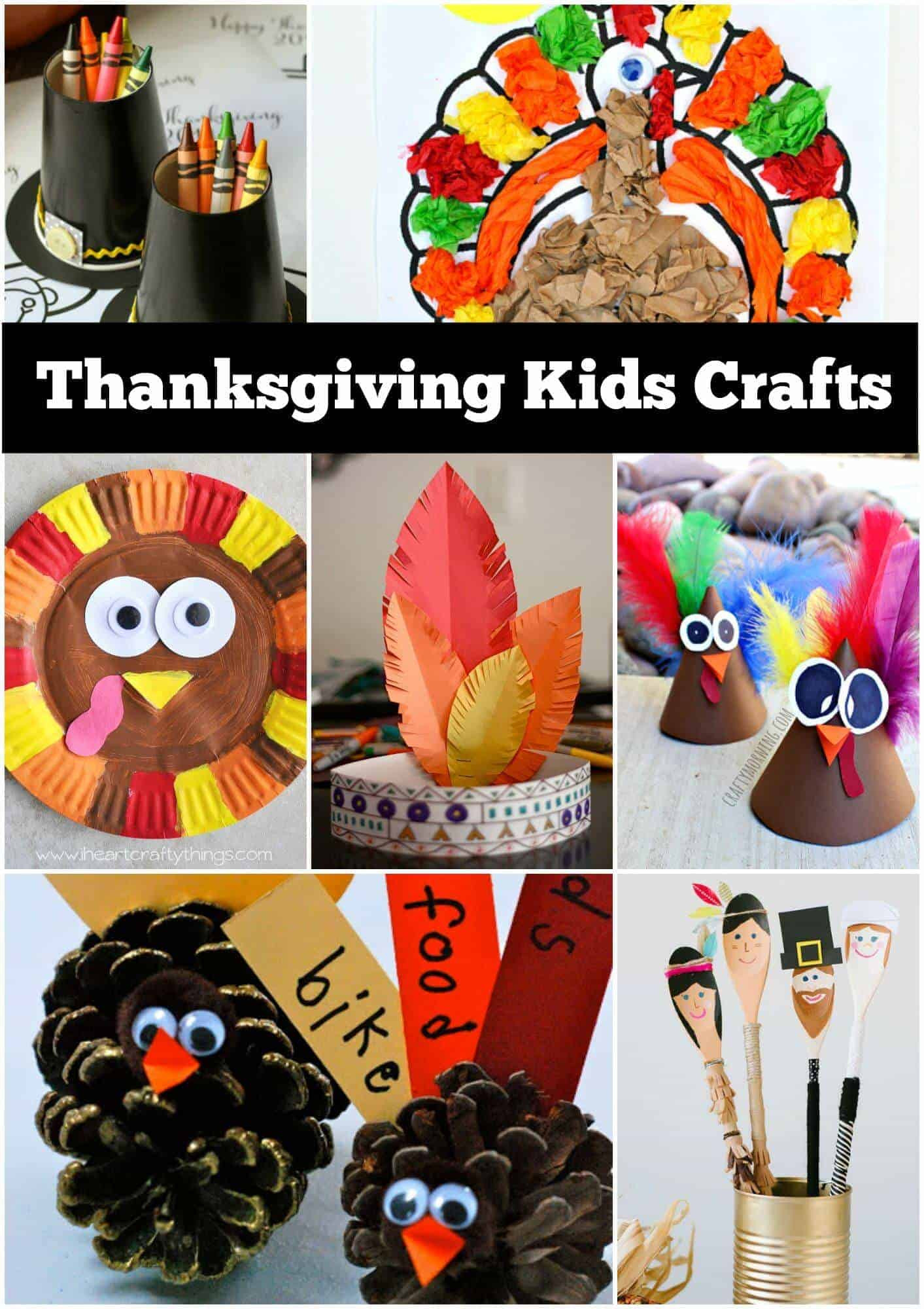 Thanksgiving Turkey Projects  12 Thanksgiving Craft Ideas for kids Page 2 of 2