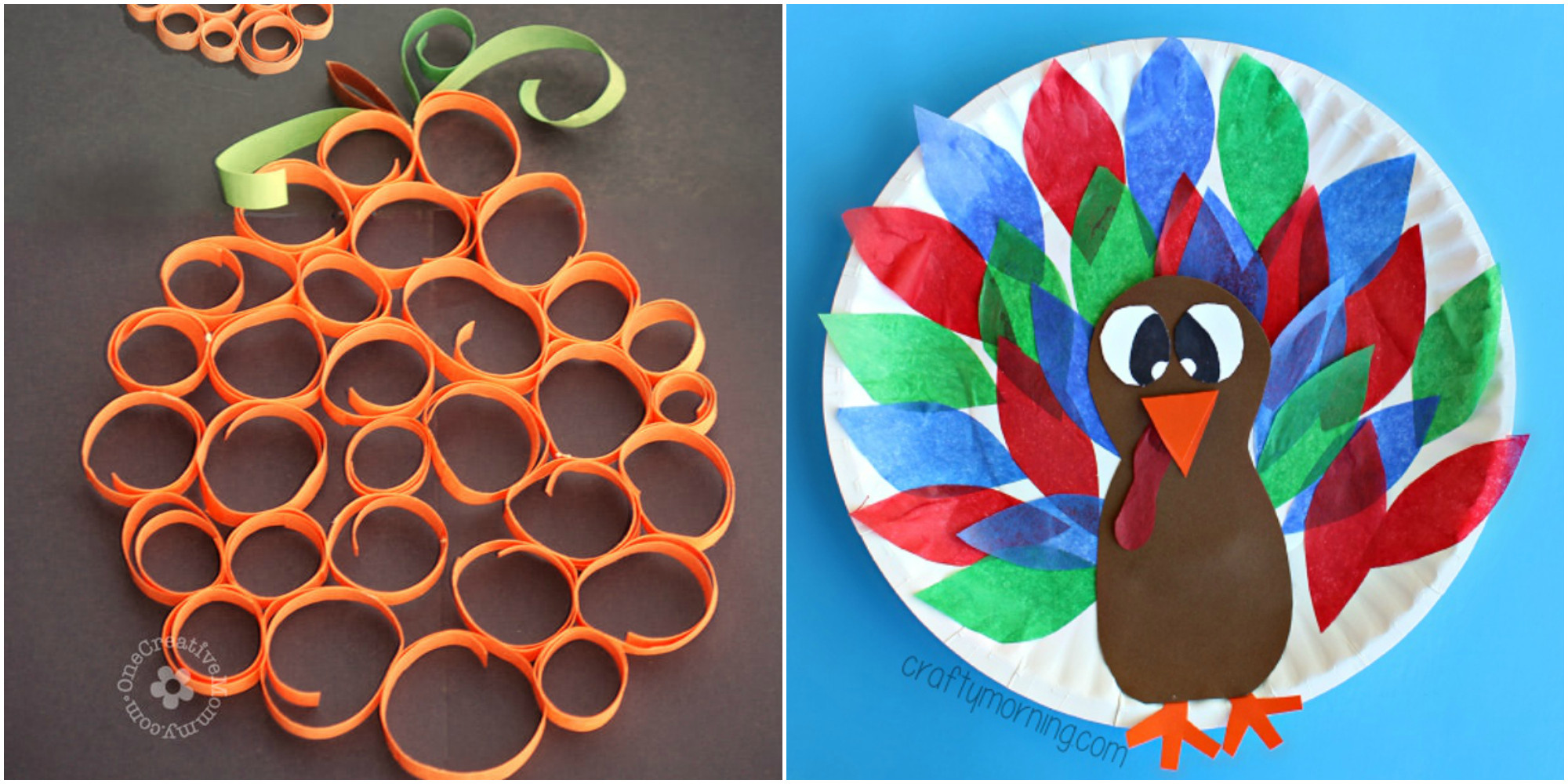 Thanksgiving Turkey Projects  33 Easy Thanksgiving Crafts for Kids Thanksgiving DIY
