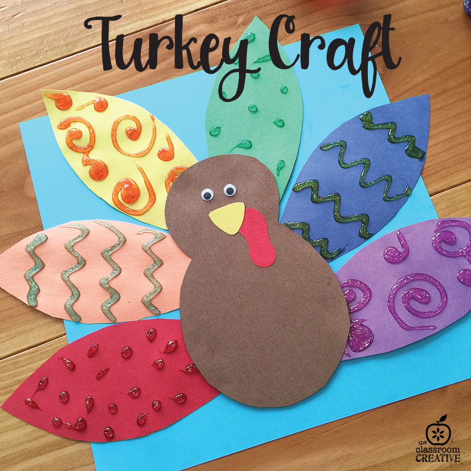 Thanksgiving Turkey Projects  Turkey Craft for Kids