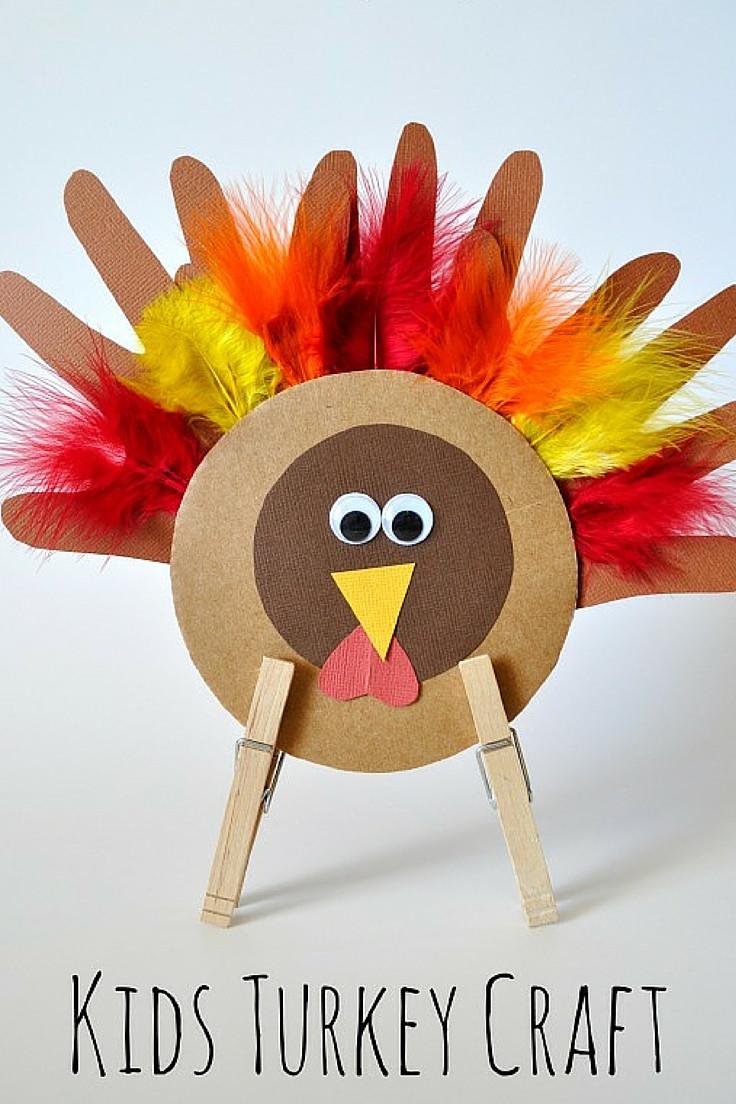 Thanksgiving Turkey Projects  Thanksgiving Turkey Craft for Kids
