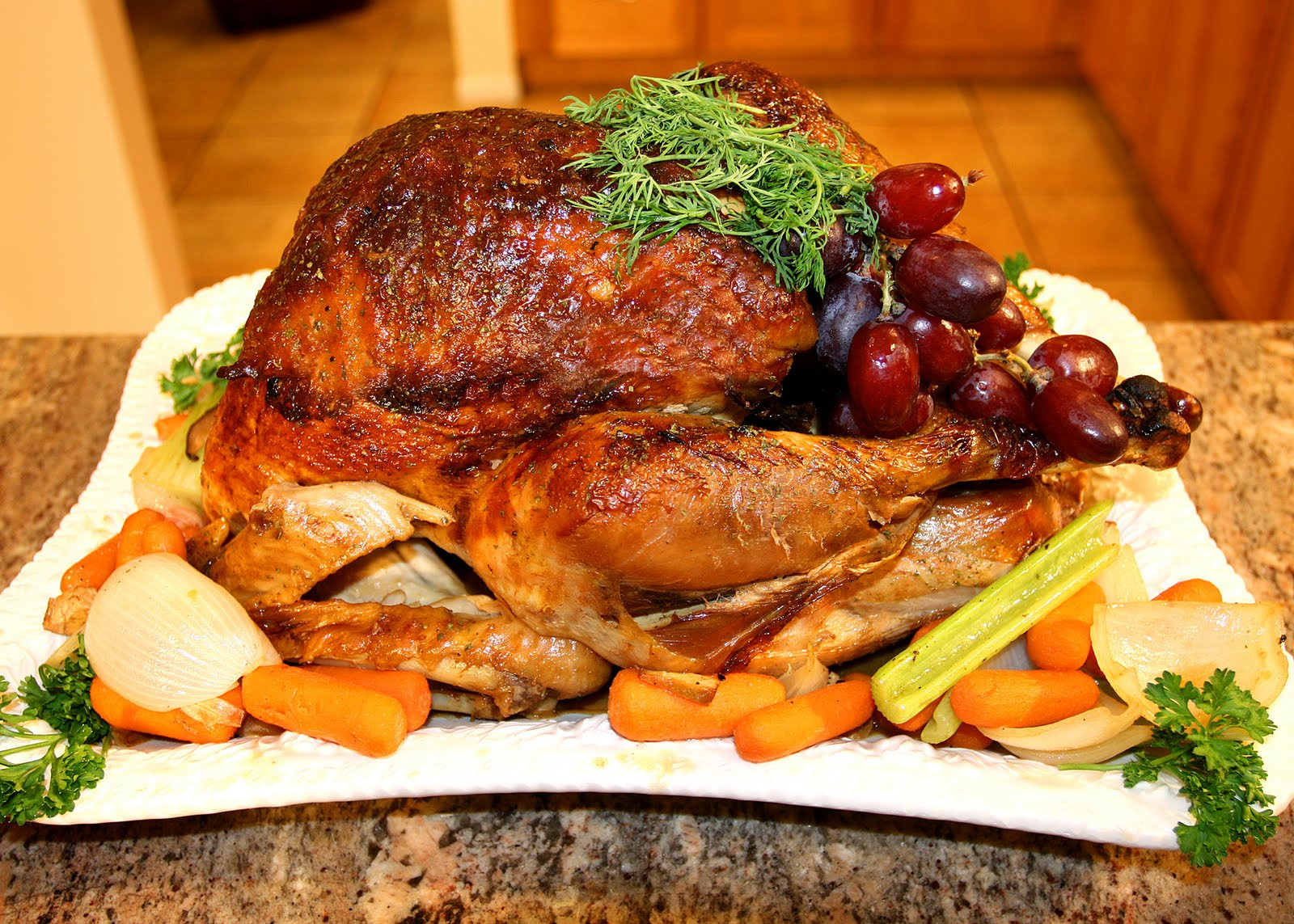 Thanksgiving Turkey Recipe  Cathlyn s Korean Kitchen Thanksgiving Fusion Turkey Recipe