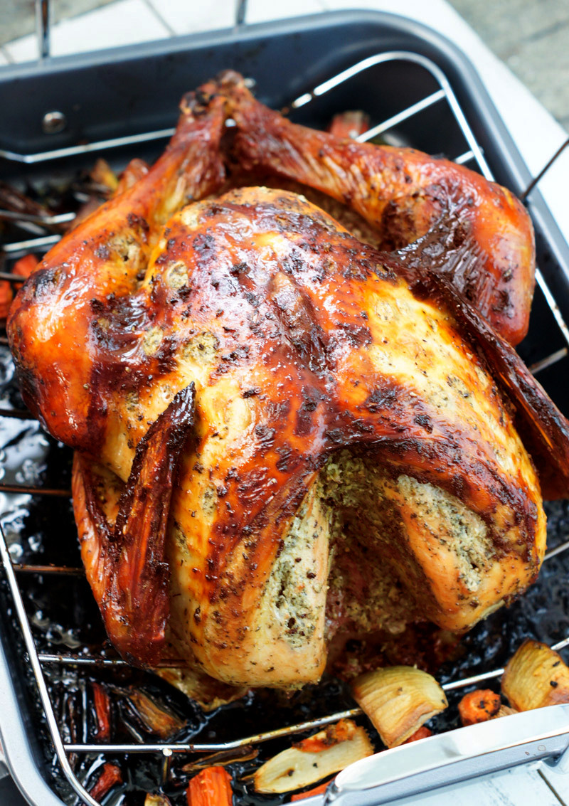 Thanksgiving Turkey Recipe  Latin Style Turkey Recipe