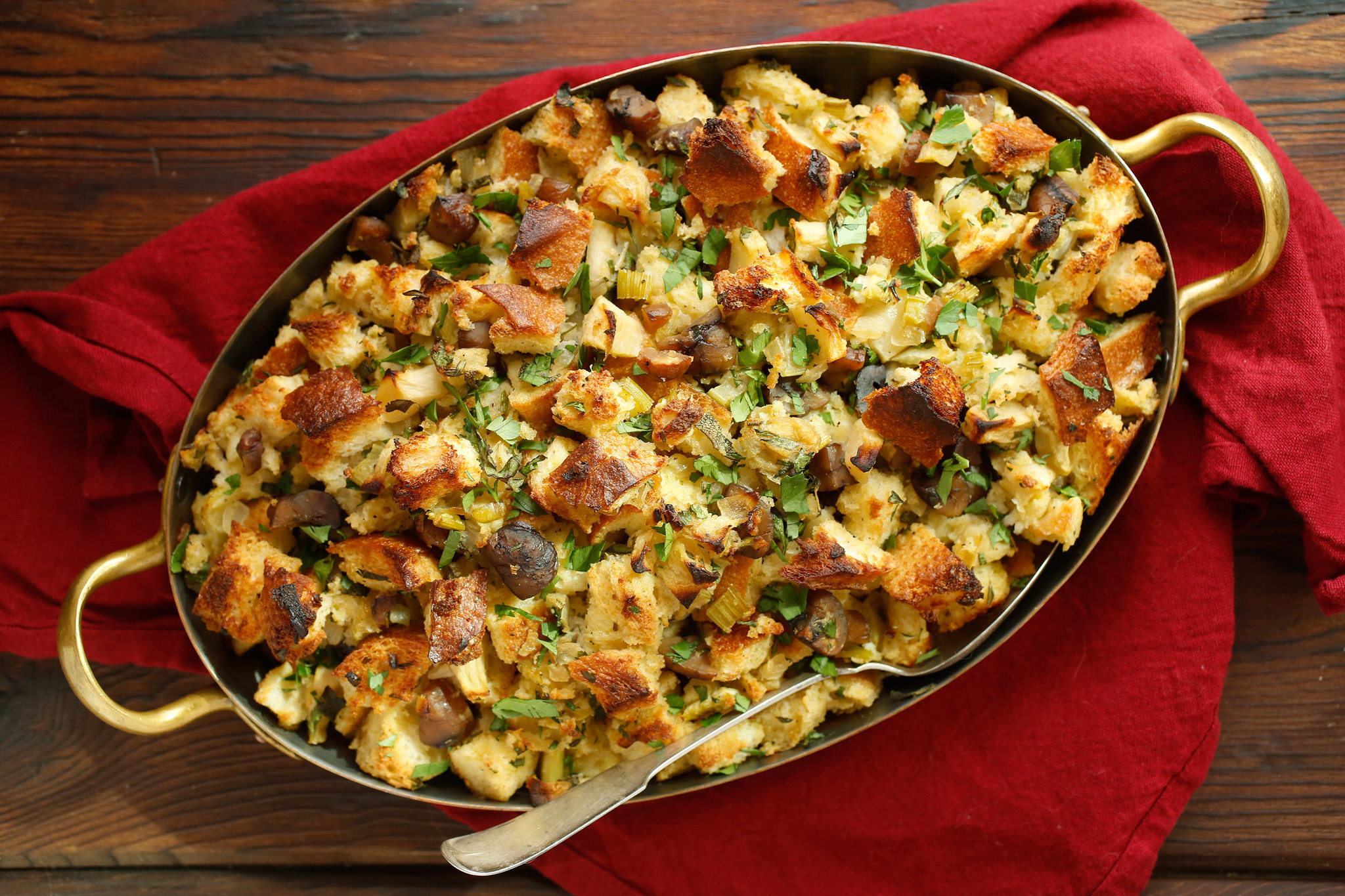 Thanksgiving Turkey Recipe With Stuffing  Thanksgiving Dressing Recipe NYT Cooking