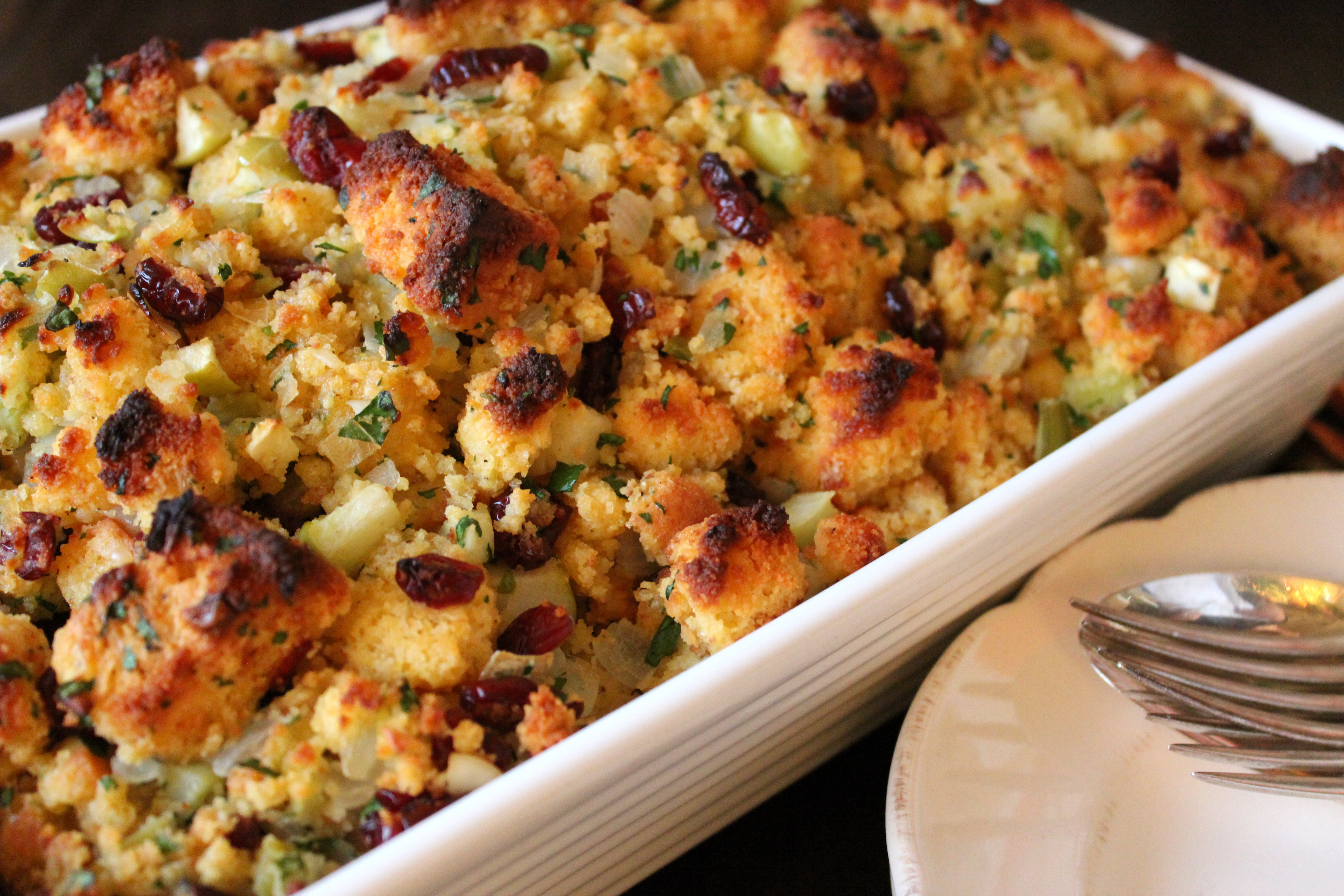 Thanksgiving Turkey Recipe With Stuffing  I say Stuffing… and you say Dressing