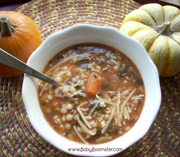 Thanksgiving Turkey Soup  Sardinian Style Minestrone Soup Recipe ve arian