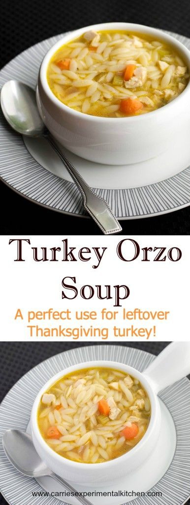Thanksgiving Turkey Soup  This weekend Thanksgiving and Soups on Pinterest