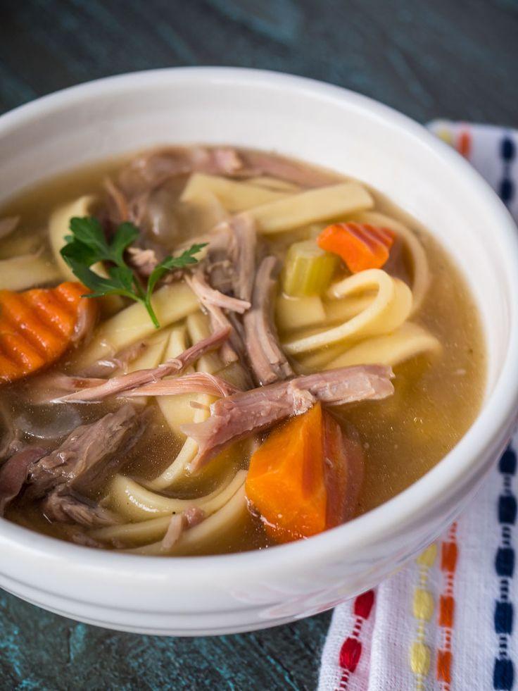 Thanksgiving Turkey Soup  Best 25 Turkey carcass soup ideas on Pinterest