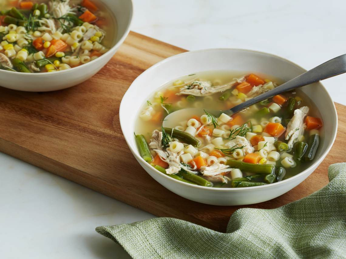Thanksgiving Turkey Soup  Day After Thanksgiving Turkey Carcass Soup Recipe