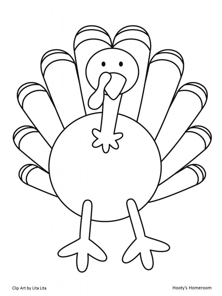 Thanksgiving Turkey Template  It's Turkey Time FREEBIE Hooty s Homeroom