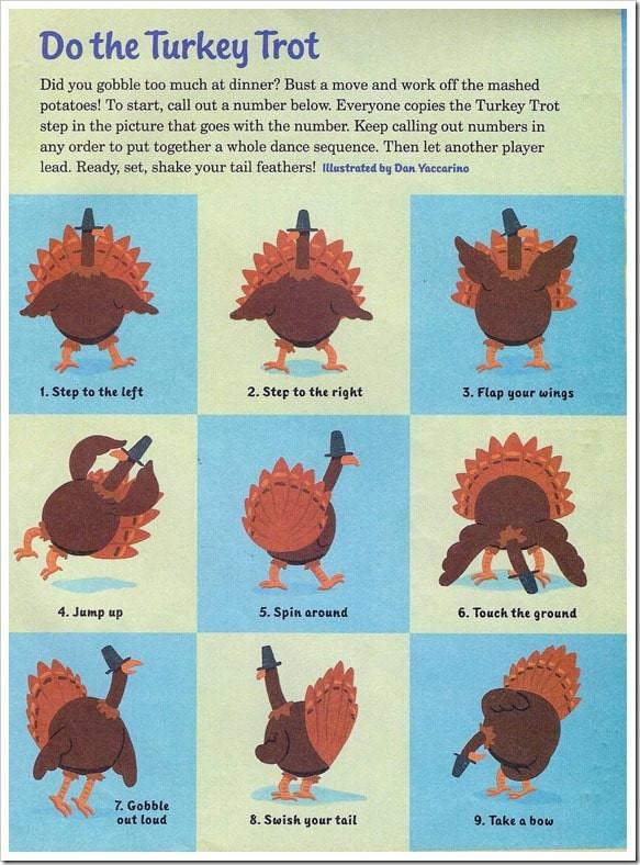 Thanksgiving Turkey Trot  Do the Turkey Trot