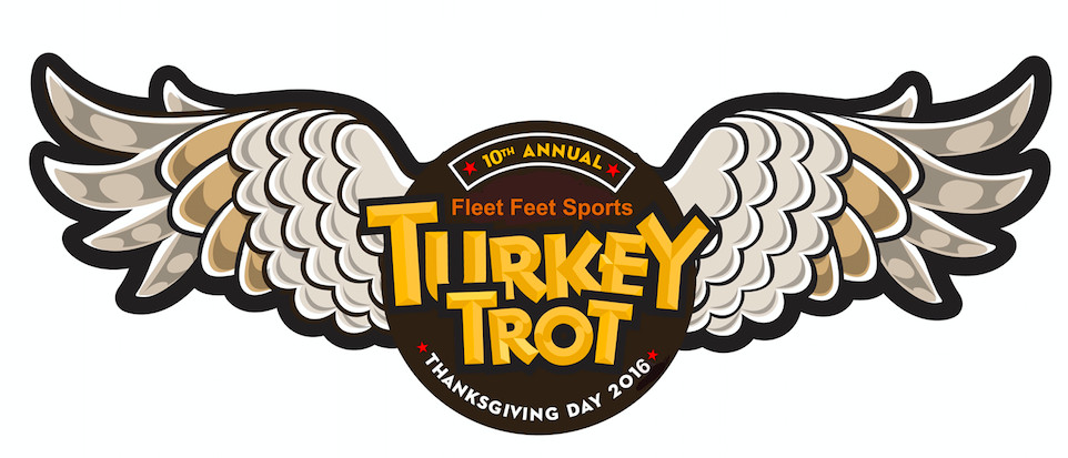 Thanksgiving Turkey Trot  Fleet Feet Sports Thanksgiving Day Turkey Trot 5K Fun Run