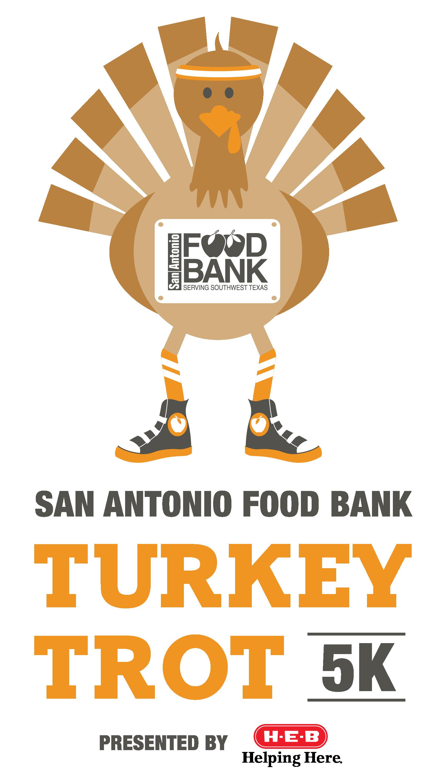 Thanksgiving Turkey Trot  Turkey Trot 5K Run Walk San Antonio Food Bank